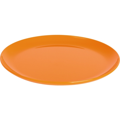 Teller flach, orange