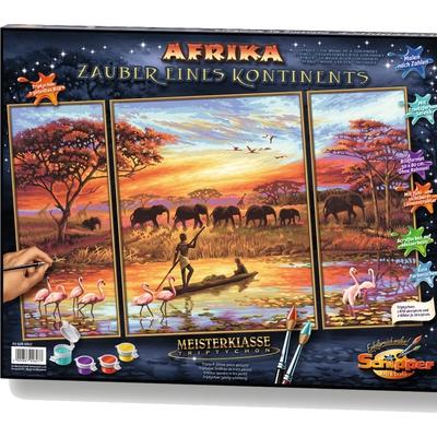Malen Nach Zahlen Afrika Malen Nach Zahlen Zeichnen Malen