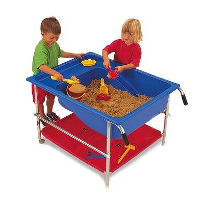 Sand-Wasser-Tisch, blau