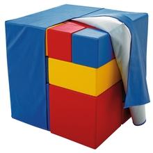 """Schaumstoffwürfel-Set """"Einfache Grundformen"""""""