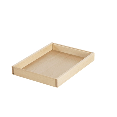 Sandwanne mit Holzboden