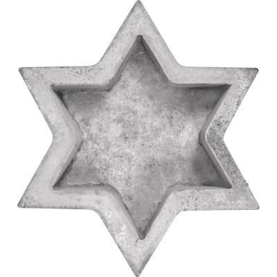 """Beton-Gießformen """"Stern"""""""