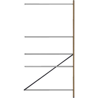 Anbauregal, 1 Rahmenteil