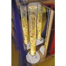 Acrylglashalterung Wassersäule