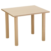 Tisch, rechteckig, 65 x 55 cm