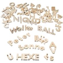 Holzbuchstaben-Set