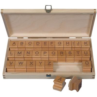 Großbuchstaben-Stempel