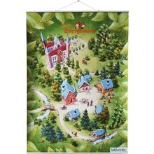 Sprach-Zwergenland-Poster