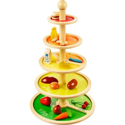 """Ernährungspyramide """"Bleib gesund"""""""