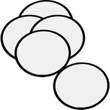 Blanko-Frisbee