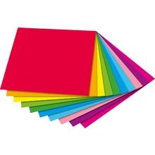 Faltblätter, zweifarbig 15 x 15 cm