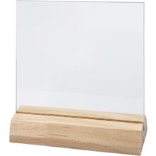 Glasplatte mit Halter, klein