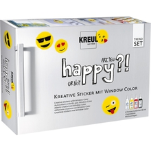 "Window-Color-Set ""Happy"""