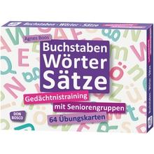 """Übungskarten """"Buchstaben, Wörter, Sätze"""""""
