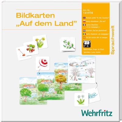 """Bildkarten """"Auf dem Land"""""""