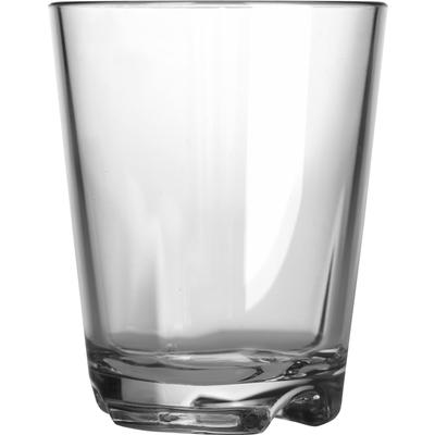 Kunststoffgläser, transparent