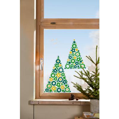 Sachenmacher Fenster Sternbilder Baum Papier Pappe
