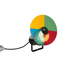 Lichtprojektor mit Farbrad