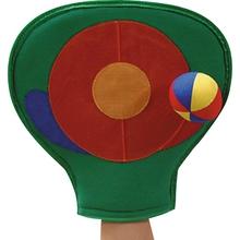 Fang-Handschuh mit Klettball