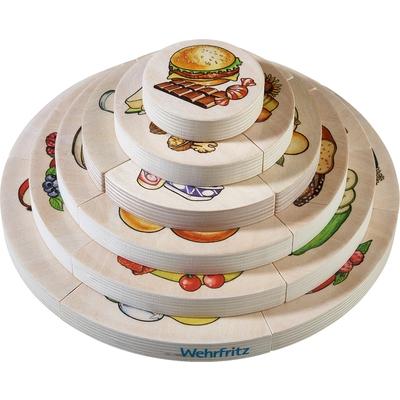 """Schichtpuzzle """"Ernährungspyramide"""""""