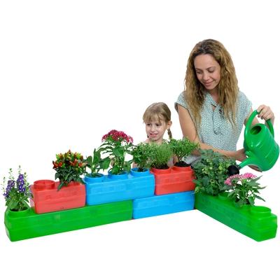 Garten-Pflanzbausteine