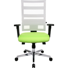 Bürodrehstuhl X-Pander Netzrücken Weiß