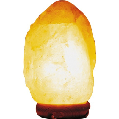 Salzkristall-Lampe