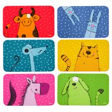 Brettchen-Set Tiere