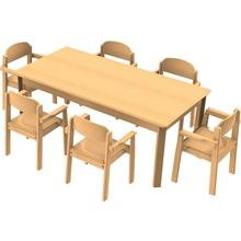 Stuhl-Tisch Kombination 3