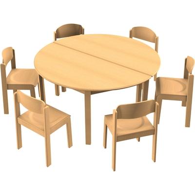 Stuhl-Tisch-Kombination 5