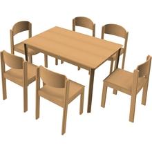 Stuhl-Tisch-Kombination 16