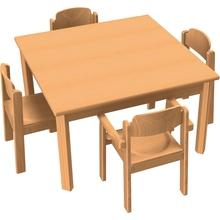 Stuhl-Tisch-Kombination 10