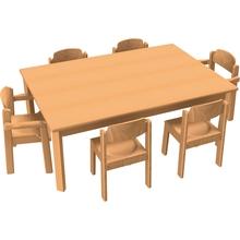 Stuhl-Tisch-Kombination 9