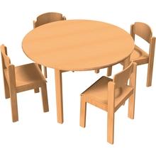 Stuhl-Tisch-Kombination 7