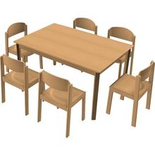 Stuhl-Tisch-Kombination 13