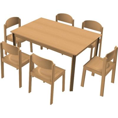 Stuhl Tisch Kombination 16 Tischgruppen Möbel Raumgestaltung