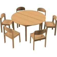 Stuhl-Tisch-Kombination 11