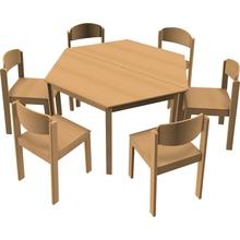 Stuhl-Tisch-Kombination 15