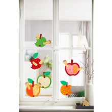 """Sachenmacher """"Fensterbilder Äpfel"""""""