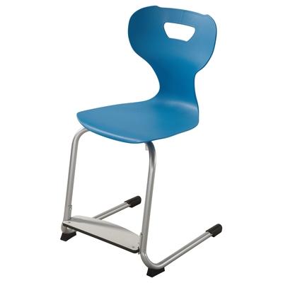 """Freischwingerstuhl """"solit:sit®"""" mit einstellbarer Fußstütze"""