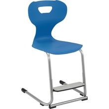 Freischwingerstuhl solit:sit® mit einstellbarer Fußstütze