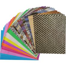 Metallpapier-Blätter