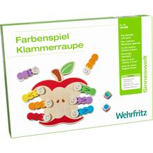 """Farbenspiel """"Klammerraupe"""""""