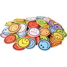 "Moosgummi-Sticker ""Smileys"""