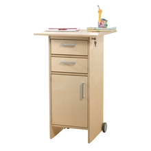 Steh-/Rolltisch für Erzieher/-innen