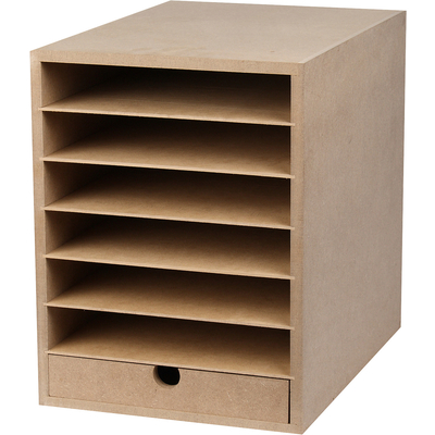 Aufbewahrungsbox Fur Din A4 Papier Materialkasten Materialwagen