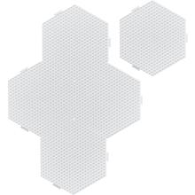 Steckplatten, sechseckig