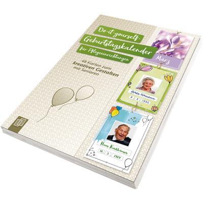 Do-it-yourself-Geburtstagskalender für Senioren