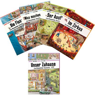 """Buchpaket """"Wimmelbilder-Geschichten"""""""