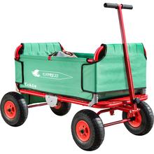 Falt-Bollerwagen mit Luftbereifung